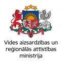 VARAM – Vides aizsardzības un reģionālās attīstības ministrija logo