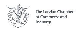 Latvian Chamber of commerce and industry logo