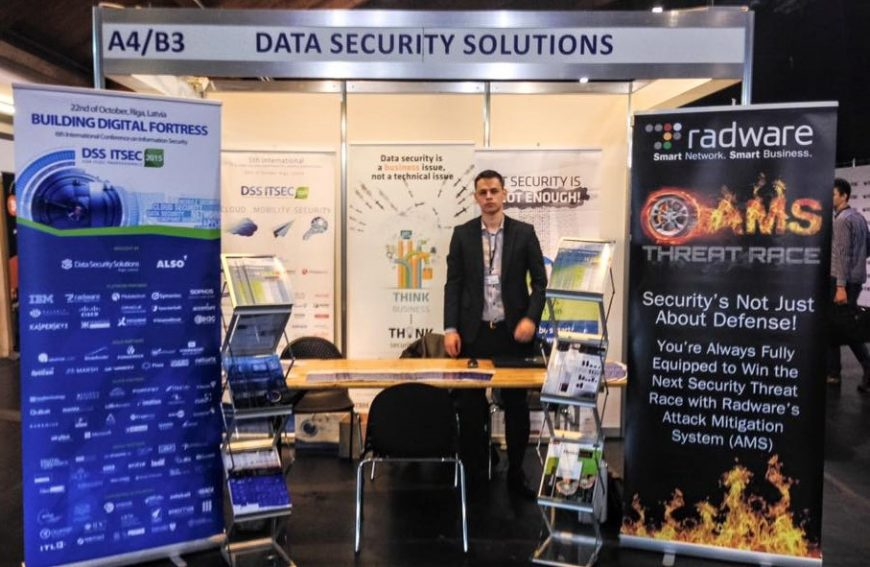 Digital Security Solutions @ RIGA COMM Baltic Business Technology Fair and Conference