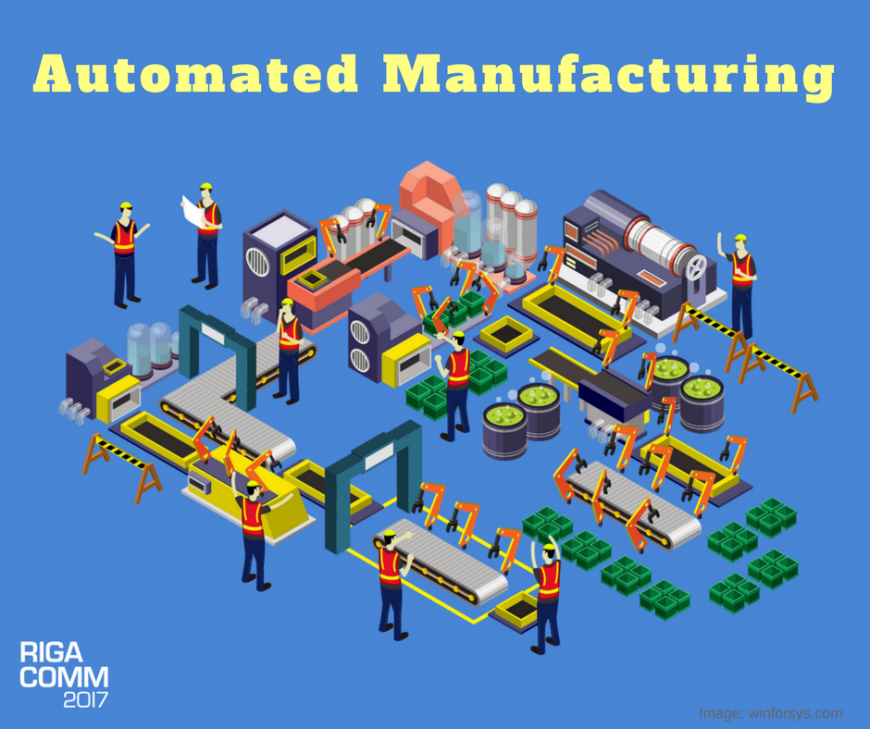 RIGA COMM 2017 IoT Conference Automated Manufacturing Industry 4.0