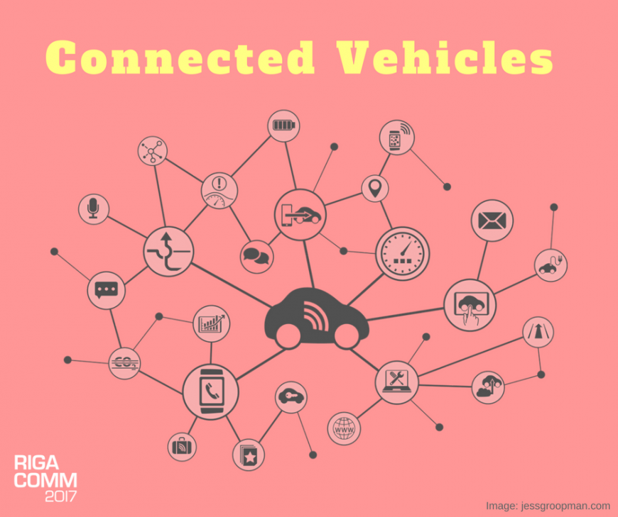 RIGA COMM 2017 IoT Conference Connected Cars Vehicles