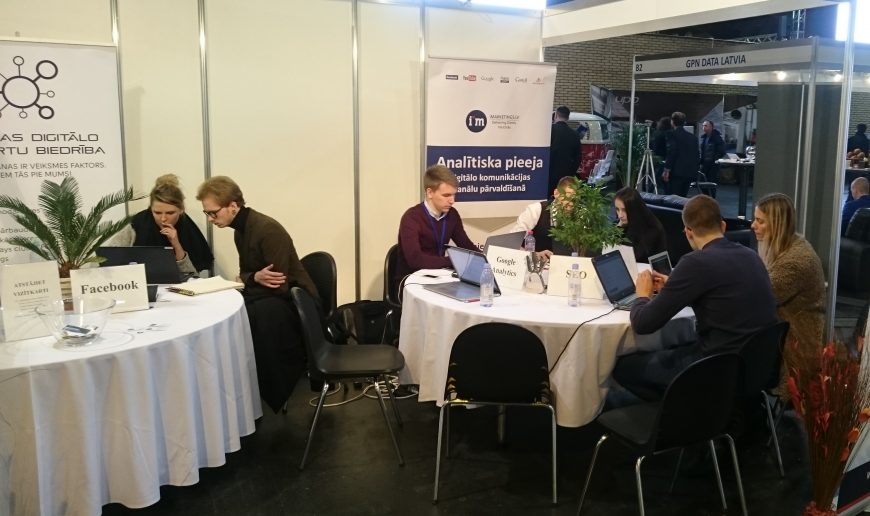 iMarketings.lv @ RIGA COMM Baltic Business Technology Fair and Conference