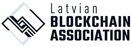 Latvian Blockchain Association – Latvia's cryptocurrency enthusiasts and blockchain entrepreneurs logo