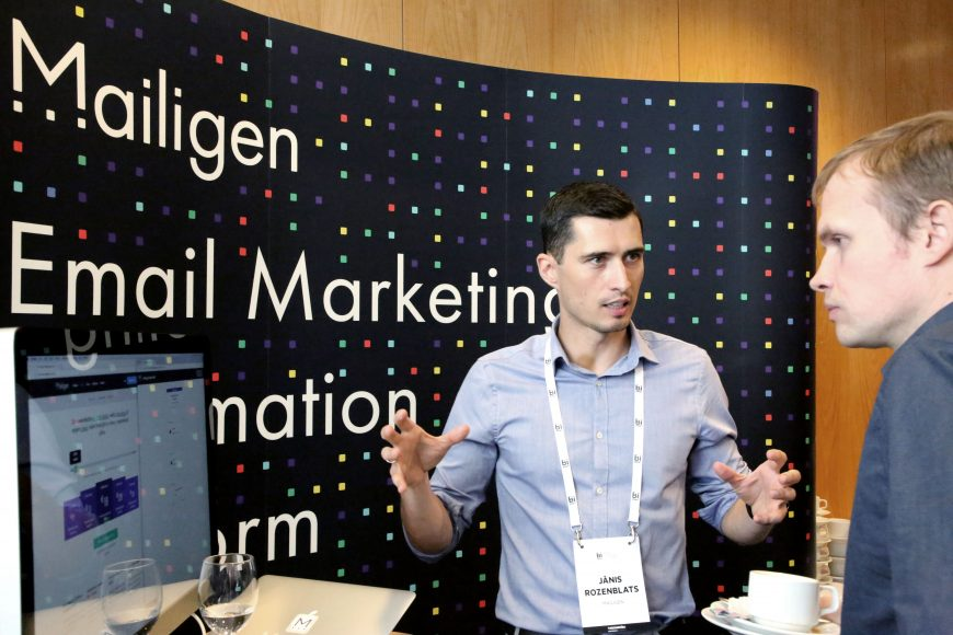 Mailigen @ RIGA COMM Baltic Business Technology Fair and Conference
