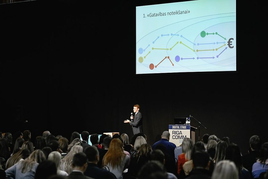 Digital Marketing Stage @ RIGA COMM Baltic Business Technology Fair and Conference