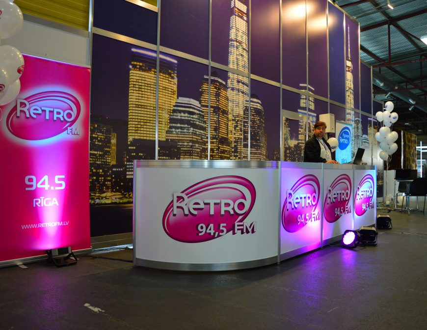 RETRO FM @ RIGA COMM Baltic Business Technology Fair and Conference