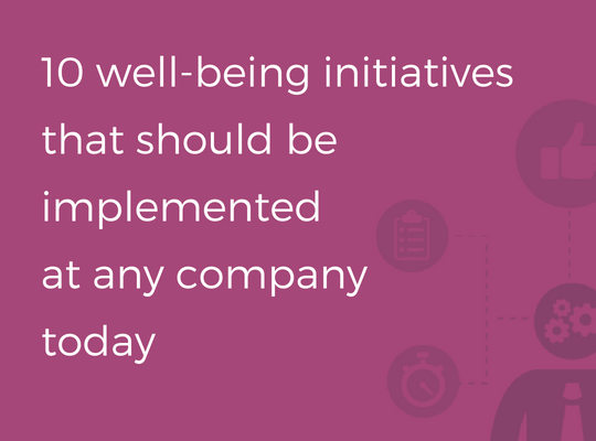 10 well-being initiatives @ RIGA COMM Baltic Business Technology Fair and Conference