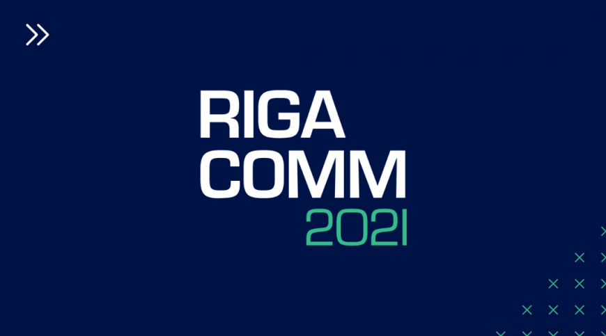 RIGA COMM 2021 Baltic Business Technology Fair and Conference